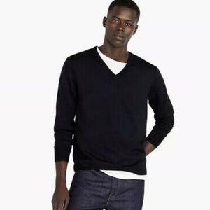 💖HP 💖NWT J. Crew 100% Merino Slim V Neck Sweater